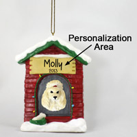 Poodle Apricot House Ornament (Personalize-It-Yourself)
