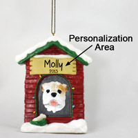 Bulldog White House Ornament (Personalize-It-Yourself)