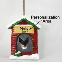 Rat Terrier House Ornament (Personalize-It-Yourself)