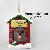Italian Greyhound House Ornament (Personalize-It-Yourself)