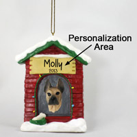 Great Dane Fawn House Ornament (Personalize-It-Yourself)