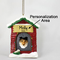 Sheltie Sable House Ornament (Personalize-It-Yourself)