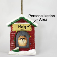Chow Red House Ornament (Personalize-It-Yourself)