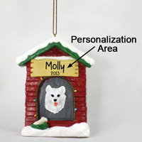 Samoyed House Ornament (Personalize-It-Yourself)