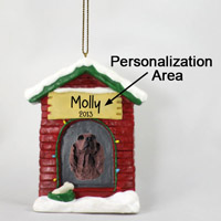 Irish Setter House Ornament (Personalize-It-Yourself)