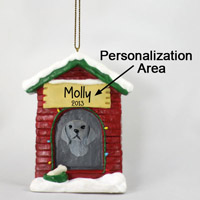 Weimaraner House Ornament (Personalize-It-Yourself)