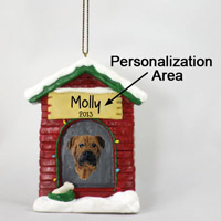 Bullmastiff House Ornament (Personalize-It-Yourself)