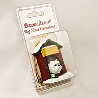Personalize-It-Yourself Dog House Ornaments