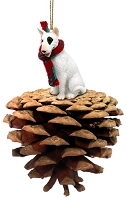 Bull Terrier Ponderosa Pet Ornament