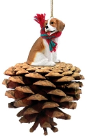 Beagle Pinecone Pet Ornament