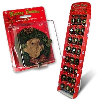 Christmas Wreath Ornaments Prepack DPX48P