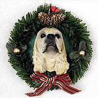 Ornaments Holiday Wreath Dogs