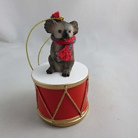 Koala Drum Ornament