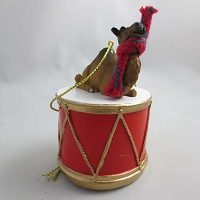 Camel Dromedary Drum Ornament