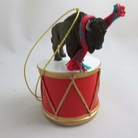 Buffalo Drum Ornament