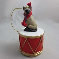 Siamese Drum Ornament