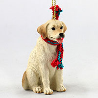 Labrador Retriever Yellow Original Ornament, Large