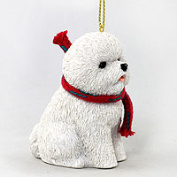Bichon Frise Original Ornament, Large