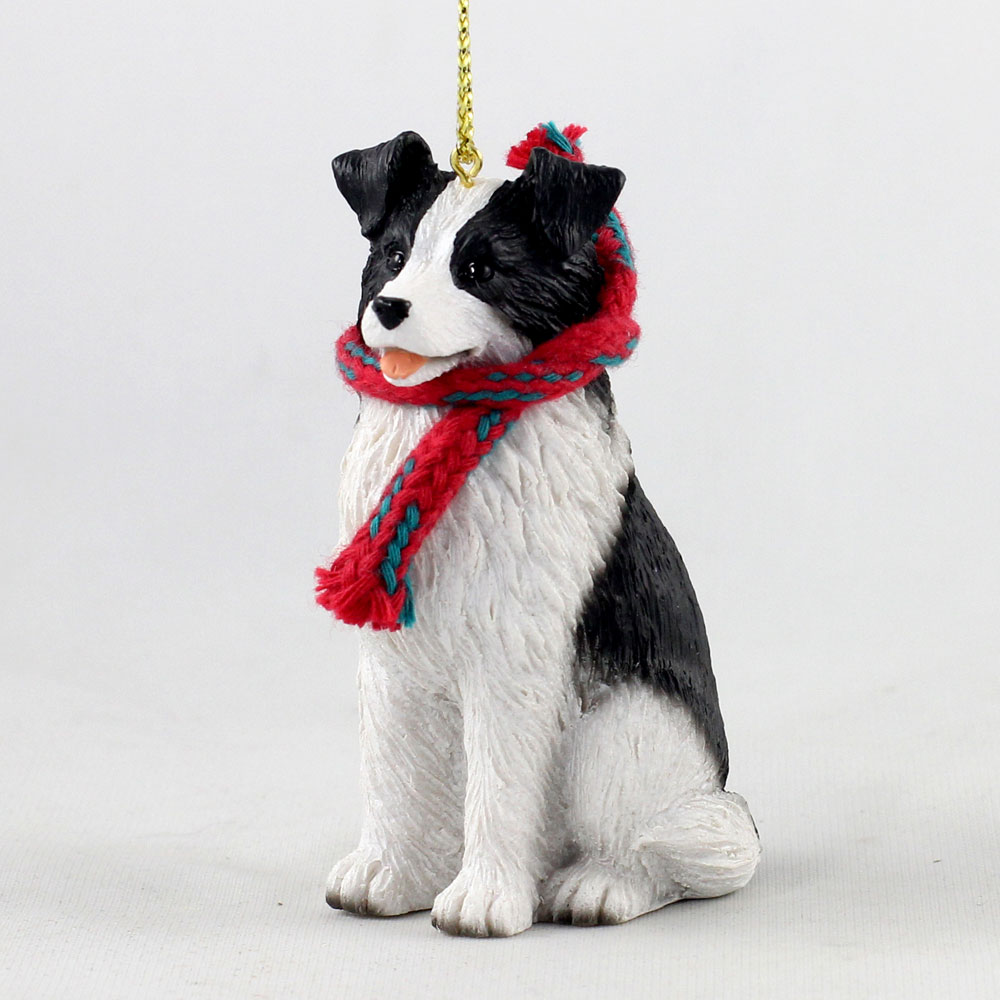 Border Collie Original Ornament, Large