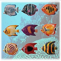 Tropical Fish Magnet