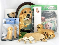 Assortment of Golden Retriever Gift Items