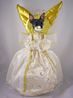 Rat Terrier Doogie Collection Angel Tree Topper