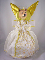 Finnish Spitz Doogie Collection Angel Tree Topper