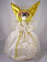 Puggle Doogie Collection Angel Tree Topper