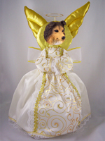 Sheltie Sable Doogie Collection Angel Tree Topper
