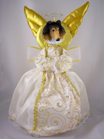 Collie Sable Doogie Collection Angel Tree Topper