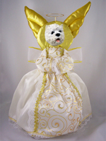 West Highland Terrier Doogie Collection Angel Tree Topper