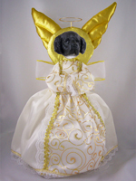 Landseer Doogie Collection Angel Tree Topper