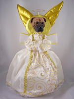 Bullmastiff Doogie Collection Angel Tree Topper