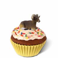Big Horn Sheep Cupcake Trinket Box
