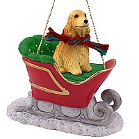 Ornaments Sleigh Ride Dogs