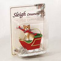 Ornament Sleigh Ride Dogs