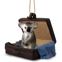 Koala Traveling Companion Ornament