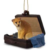 Cougar Traveling Companion Ornament