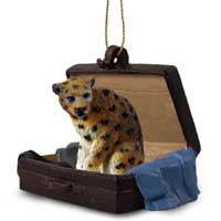 Leopard Traveling Companion Ornament