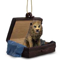 Lion Traveling Companion Ornament