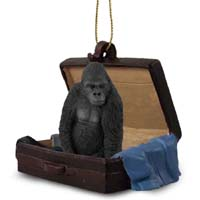 Gorilla Traveling Companion Ornament