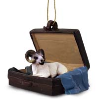 Dall Sheep Traveling Companion Ornament