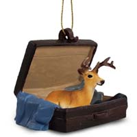 Deer Buck Traveling Companion Ornament