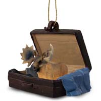 Moose Bull Traveling Companion Ornament