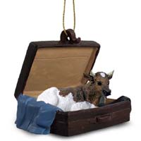 Guernsey Bull Traveling Companion Ornament