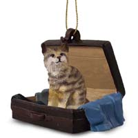 Bobcat Traveling Companion Ornament