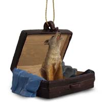 Coyote Traveling Companion Ornament