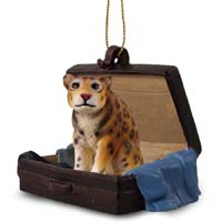 Jaguar Traveling Companion Ornament