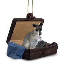 Kangaroo Traveling Companion Ornament