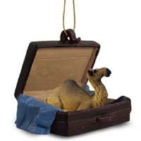 Camel Dromedary Traveling Companion Ornament